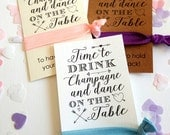 Bride Hen Party Favours Favors Cards Hair Bands Gifts Bachelorette Time to Drink