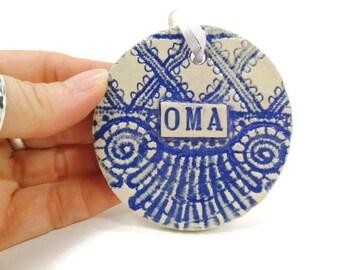 Custom Ornament MADE TO ORDER, Grandparent Ornament, Personalized Ornament, Custom Word, Personalized Christmas Ornament, Baby Name Ornament