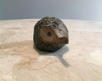 Vintage Studio Pottery hedgehog