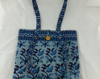 Hand Block Printed Fabric Bag MF507