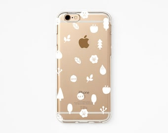 iPhone 6s+ Case - Makitoy Nature- iPhone 6s case, iPhone 6 case, iPhone 6s+ case, iPhone 6+ case Valentine - Clear Flexible Rubber case J16