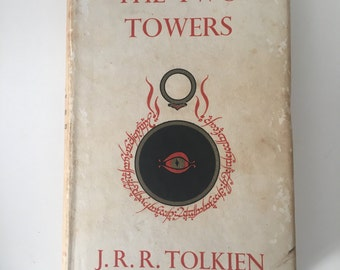 The Two Towers JRR Tolkien First Edition Fifth Impression 1957