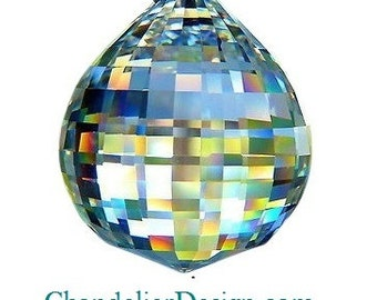 40mm Clear Disco Ball Chandelier Crystal Asfour Full Lead Crystal