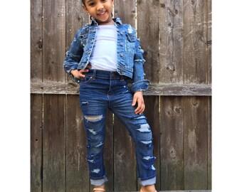 Distressed to Impress Jeans / Kids Distressed Jeans
