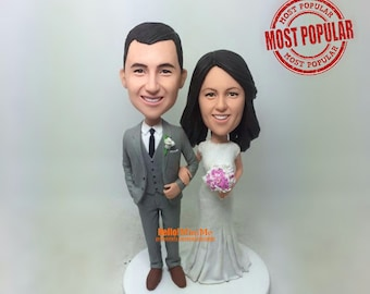 Wedding Topper Cake Toppers Custom Bobblehead
