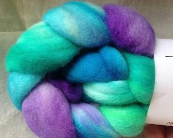 Hand dyed 100% Merino Spinning Fiber
