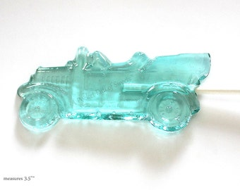 Vintage Car Birthday, 12 Car Party Favors, Car Baby Shower, Car Wedding Favors, Clear Toy Candy, Barley Pops, Calling All Cars, Car Favors
