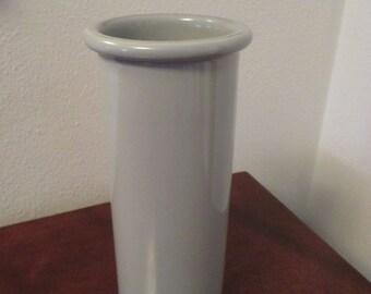 Vintage Dansk Vase Gray Tall Bud Vase Ceramic Made in Japan 1980s
