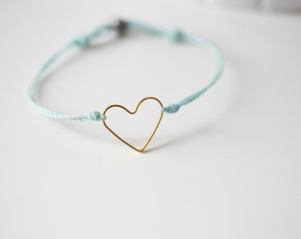 I LOVE YOU Bracelet -  I Heart You Bracelet - Celebrity bracelet