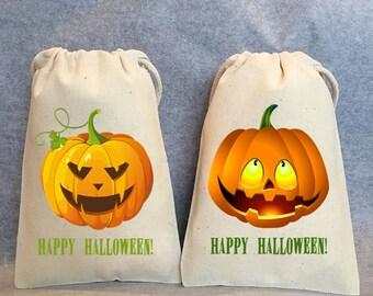 "12- Halloween Party, Halloween Birthday, Halloween favors, Halloween treat bag, Halloween favors, Halloween favor bags, 4""x6"""