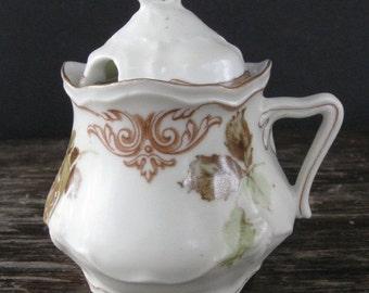 Sale Silesia Old Ivory Mustard Pot
