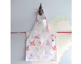 Toddler Apron with pockets - Fairies
