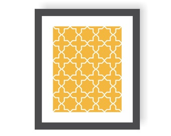 Moroccan Star Art Print, Geometric Wall Art, Pattern Art, Middle Eastern, Modern Nursery Print, Living Room Art, Dining Room decor