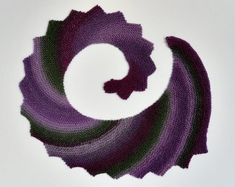 Knit / Spiral Stair Shawl