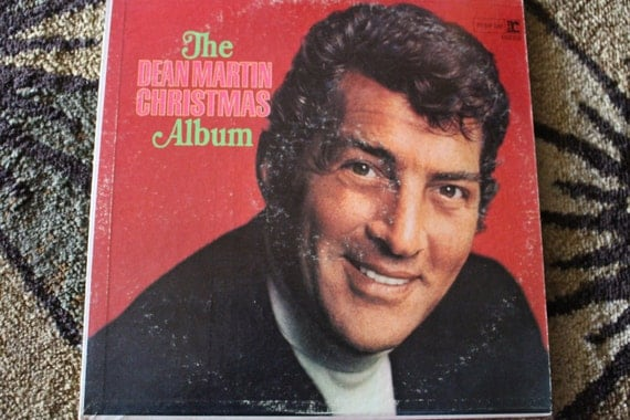David Jones Personal Collection Record Album - The Dean Martin Christmas Album