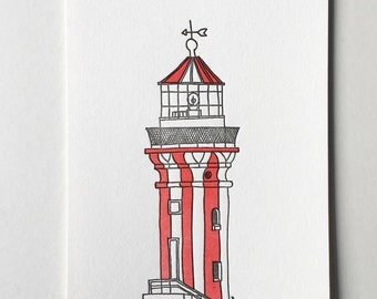 Hornby Lighthouse Syndey mini print