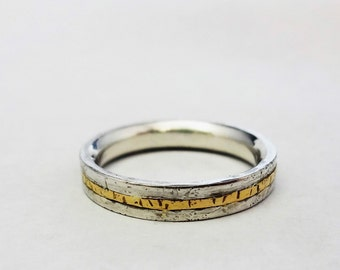 Silver and Gold Band