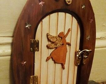 Glitter Wooden Fairy Door
