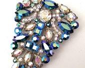 Vintage Brooch of Vivid Colors
