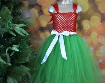 Classic Christmas tutu dress