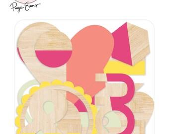 Pink Paislee - Paige Evans - Take Me Away - Wood Veneers - 18 pieces - 310429