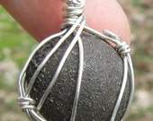 BOJI Stones w/ BIRTH CERTIFICATE *It's the Real Thing* Pendant,Sterling Silver Wirewrapped Jewelry, Necklace (#2) Crystals & Minerals