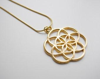 Golden Symbol Pendant