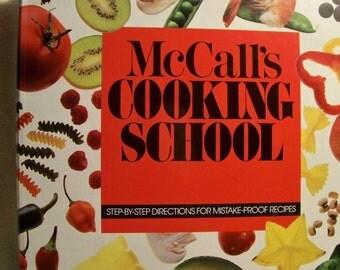 McCall's Cooking School Binder Cookbook