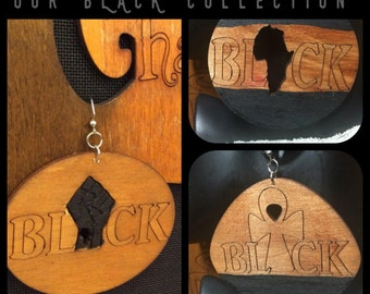 Our BLACK Collection Earrings