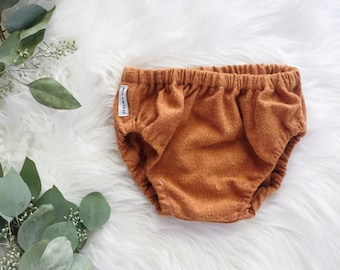 Flannel Bloomers / Baby Bloomers / Toddler Bloomers / Diaper Cover / Pumpkin Flannel