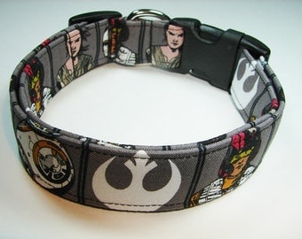Star Wars with The Rebel Alliance Logo Dog Collar