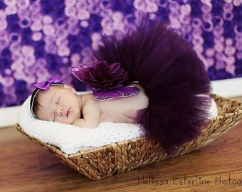 Baby Ballerina Girl Tutu Baby Photo Prop
