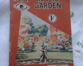 I-Spy in the Garden Vintage Book