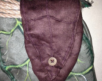 Woodland Leaf Pouch for Children to Adults