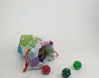 Small Reversible Drawstring Bag