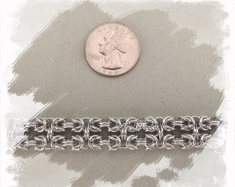 04 Chain Maille bracelet - Chainmaille bracelet