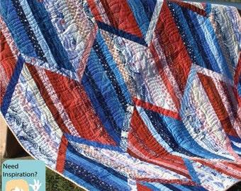 Quilt Pattern - Triple Sidestep Quilt Pattern
