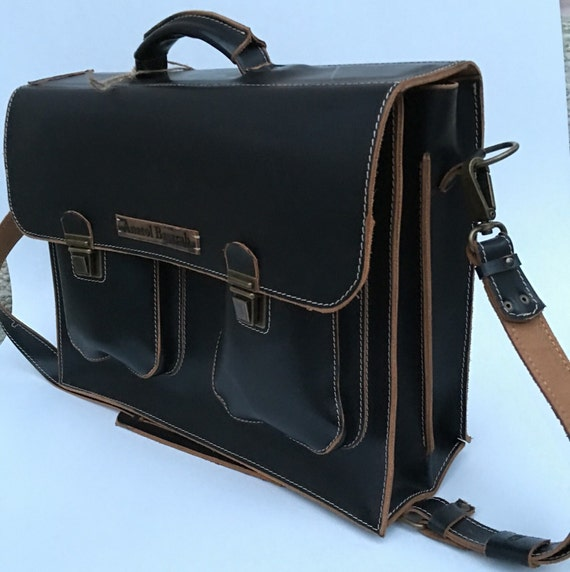 Man Leather Briefcase, Business Briefcase, 15 inches laptop briefcase, business man briefcase,  CEO Bag, Leather Bag, Man Bag