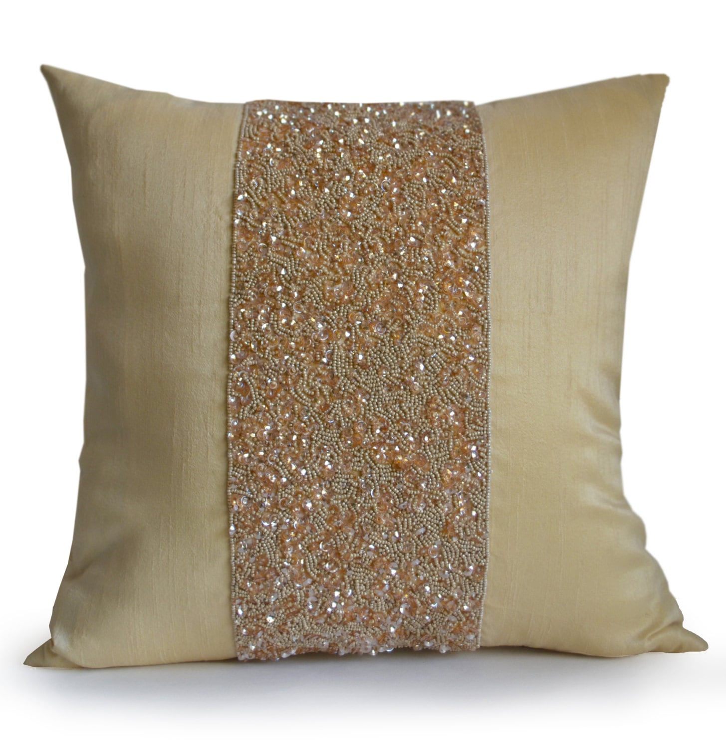 Beige Throw Pillow Cover Beige Decorative Pillow Cover Beige