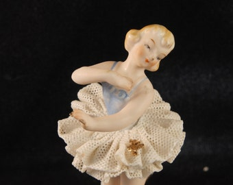 Vintage ballerina figurine
