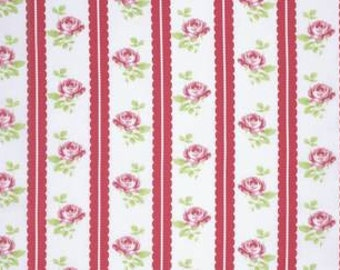 Tanya Whelan 'Lulu Roses' Lilah in Red Cotton Fabric
