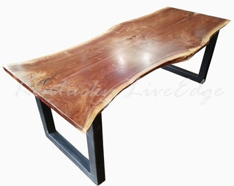 Custom Dining Table  Modern Dining Table  Artistic Dining Table  Natural  Wood Table