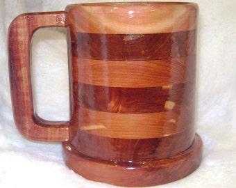 Cedar Large tankard mug 30 ounce
