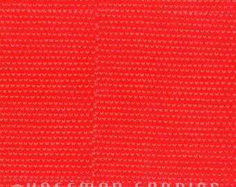 Me + You Tomato Red Print Batik Fabric (102-344) Hand Dyed Indah Bali Batik by Hoffman Fabrics - Yardage