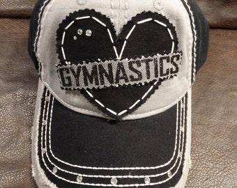 Gymnastics dancer love hat