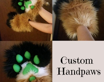 Custom Puffy Fursuit Paws