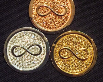 """33 mm Cached Treasures """"Infinity"""""""