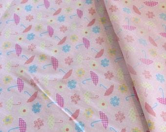 Pink April Showers Cotton