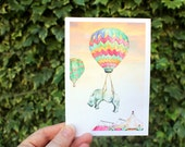 Float on | Greeting card