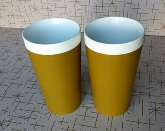 David Douglas Gold Tumblers Sonic Welded Therm Ware Poolside Picnic Camping Supply